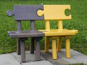 パズルの椅子